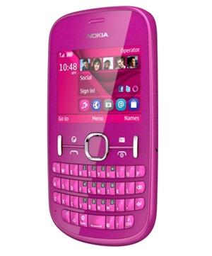 Nokia Asha 201 Rosado Tienda Claro Perú