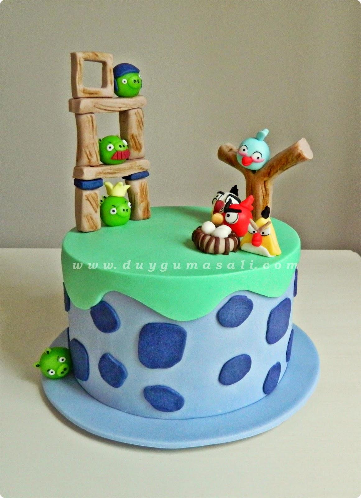 edirne angry birds pastası