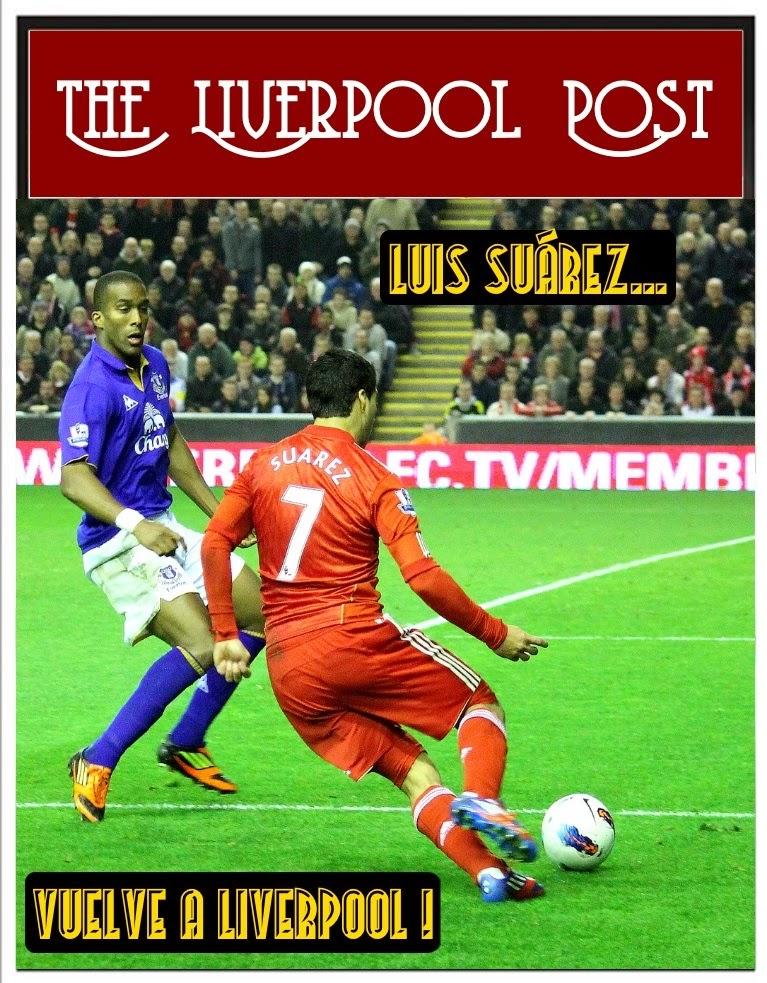 Portada del Liverpool Post