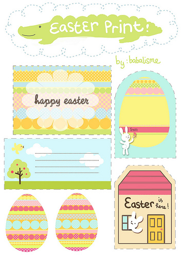 26 free easter printables the scrap shoppe easter gift tags from babalisme negle Image collections