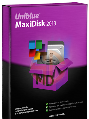 Uniblue MaxiDisk 2013 1.0.4.0 with Activator Full Version Free