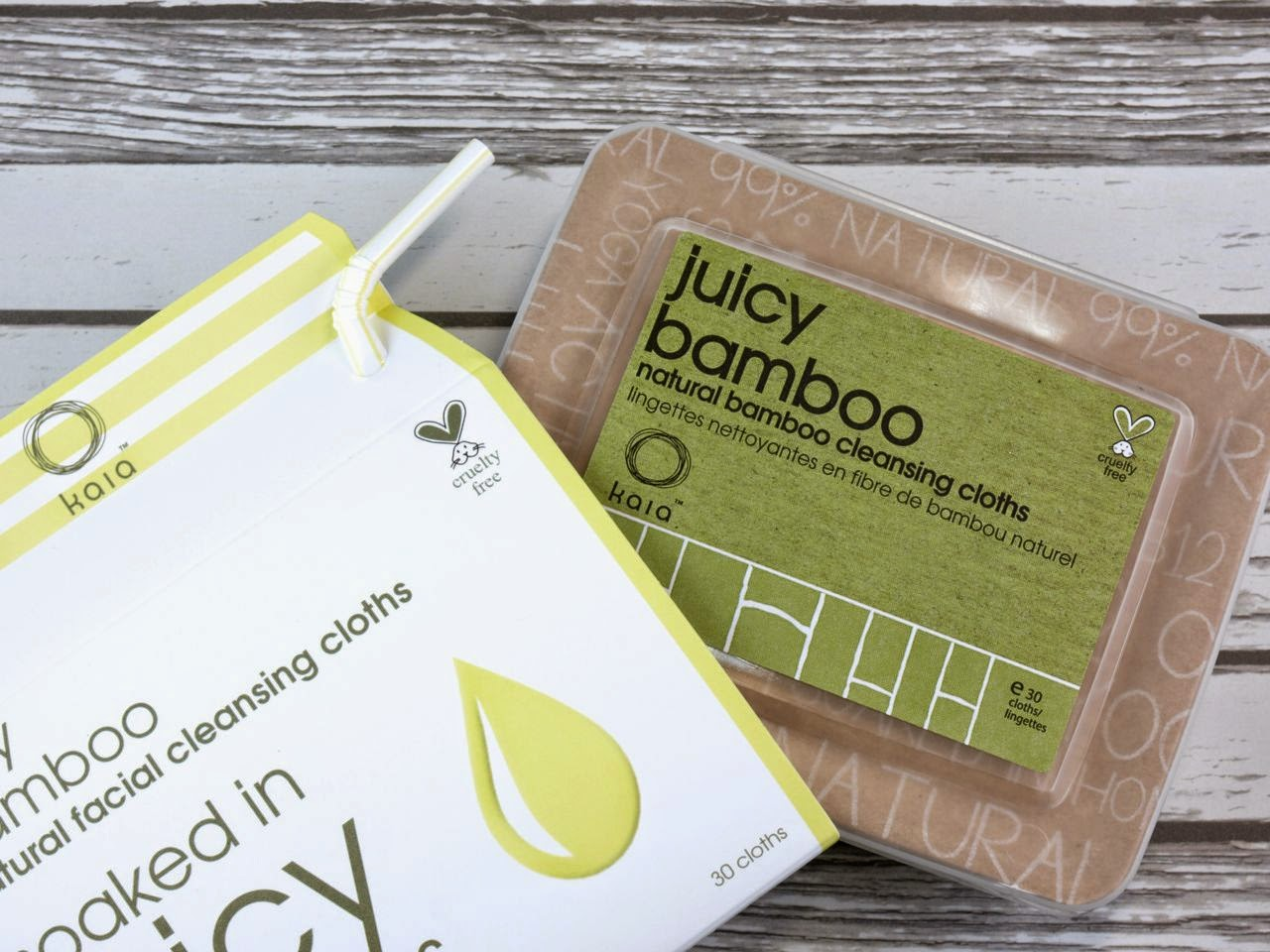 Kaia Naturals Juicy Bamboo Natural Cleansing Cloths: Review