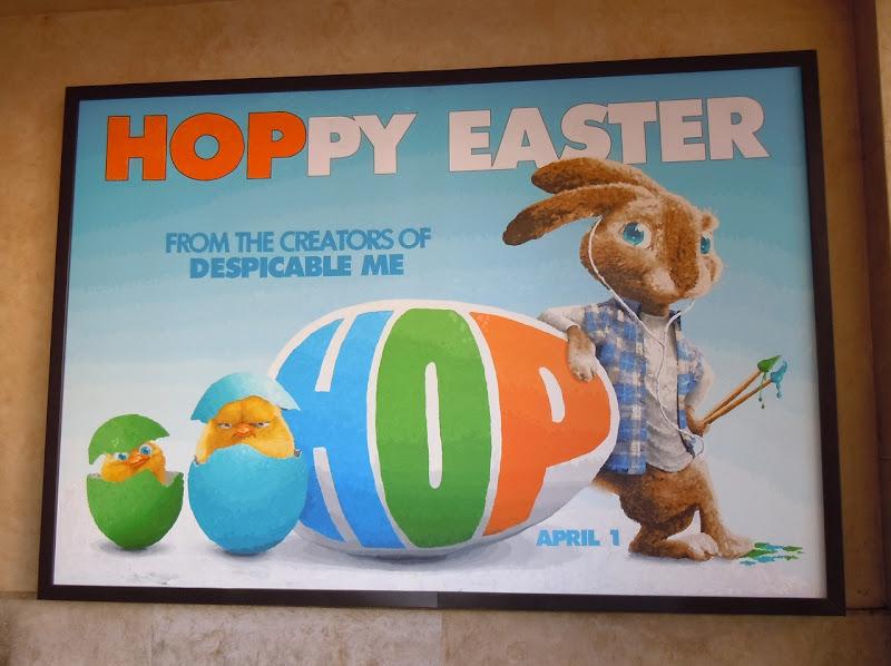 Hoppy Easter Hop movie billboard