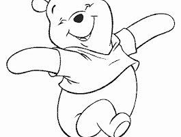 Winnie The Pooh Love Coloring Pages