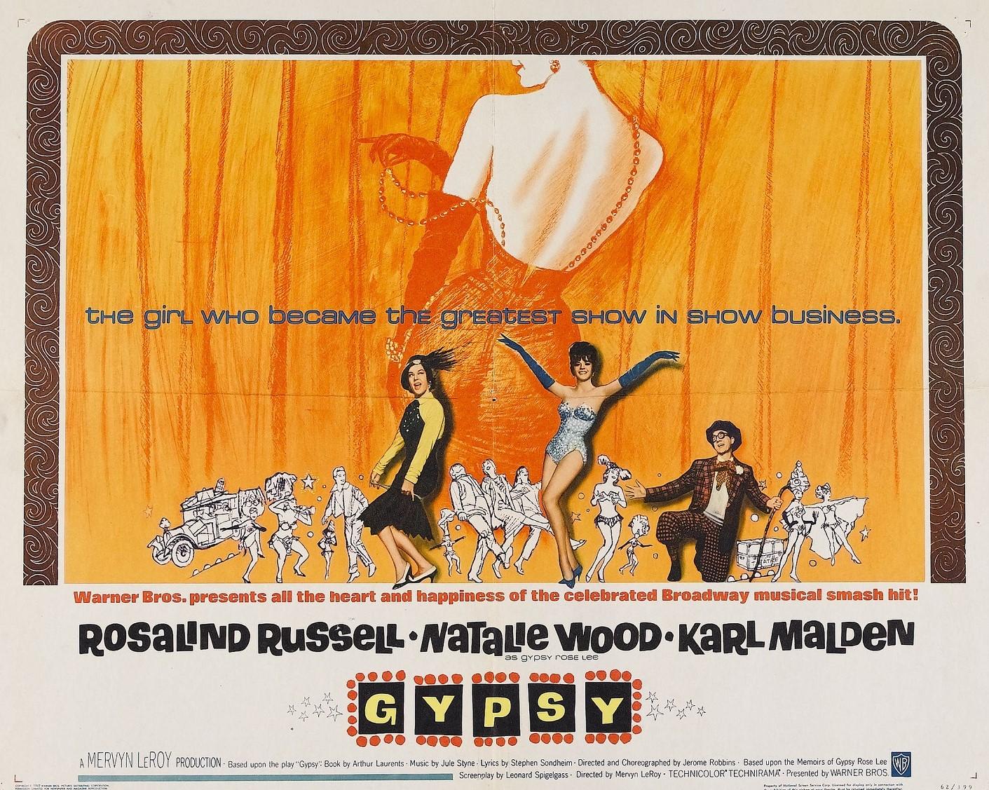 GYPSY (1962) WEB SITE