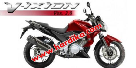 Harga dan Spesifikasi Yamaha New V-Ixion 2012
