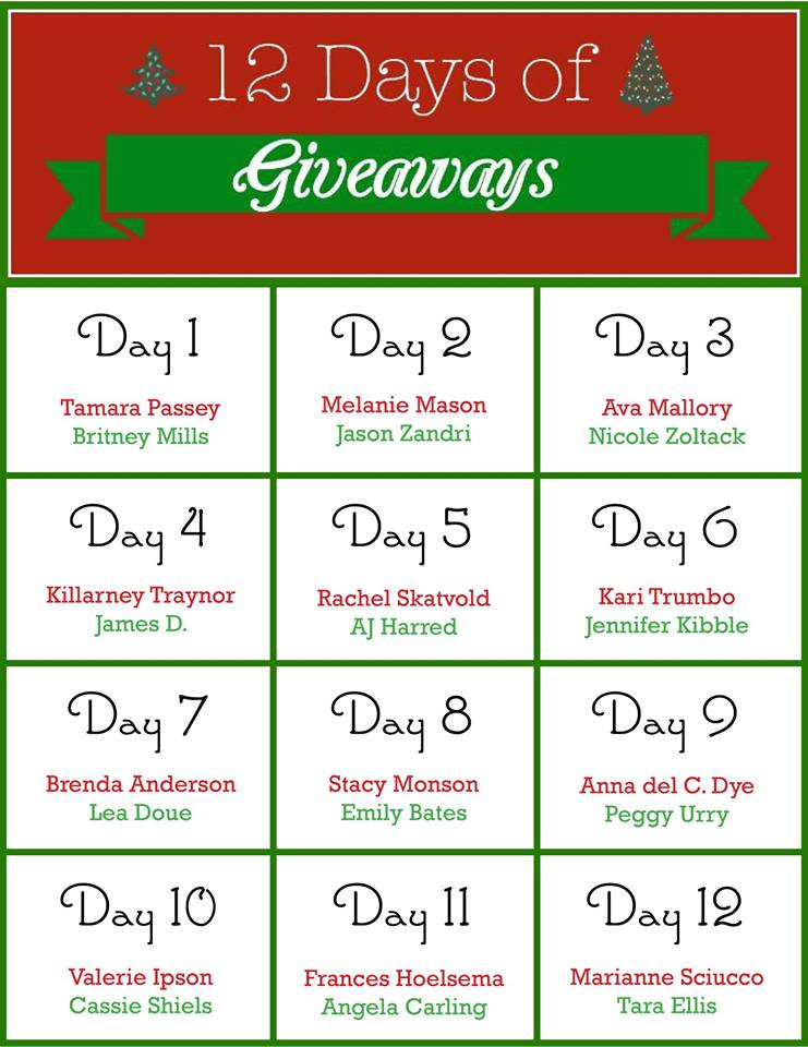 Day 6 winners of 12 days of giveaways tickets