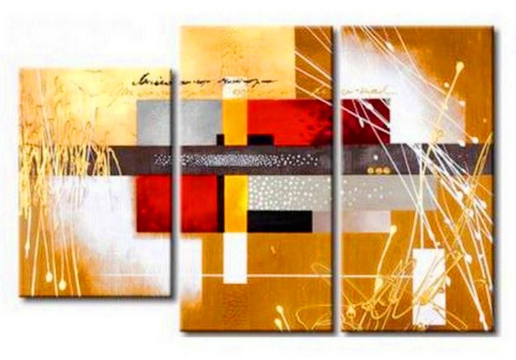 Pinturas cuadros lienzos cuadros f ciles de pintar en leo - Cuadros para comedores modernos ...