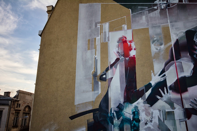 Street Art By Polish Artist Tone For Fundacja Urban Forms 2013 In Lodz, Poland. 5