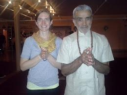 Sri Dharma Mittra and Parvati Om