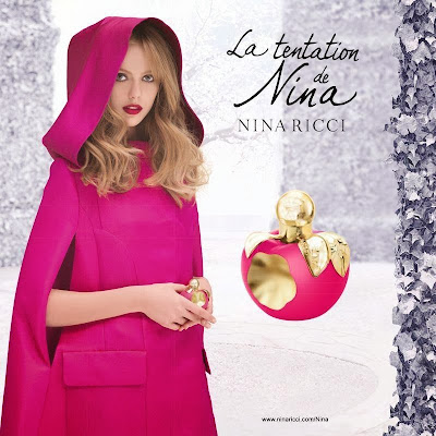 Frida Gustavsson Photos from The Tentation Nina Fragrance 2014 HQ Scans