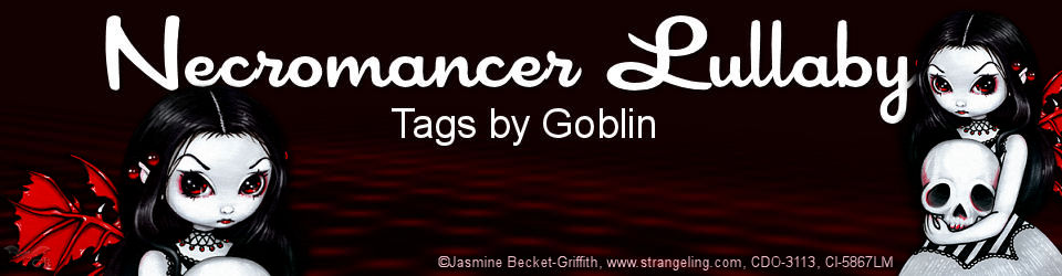 Necromancer Lullaby Tags by Goblin