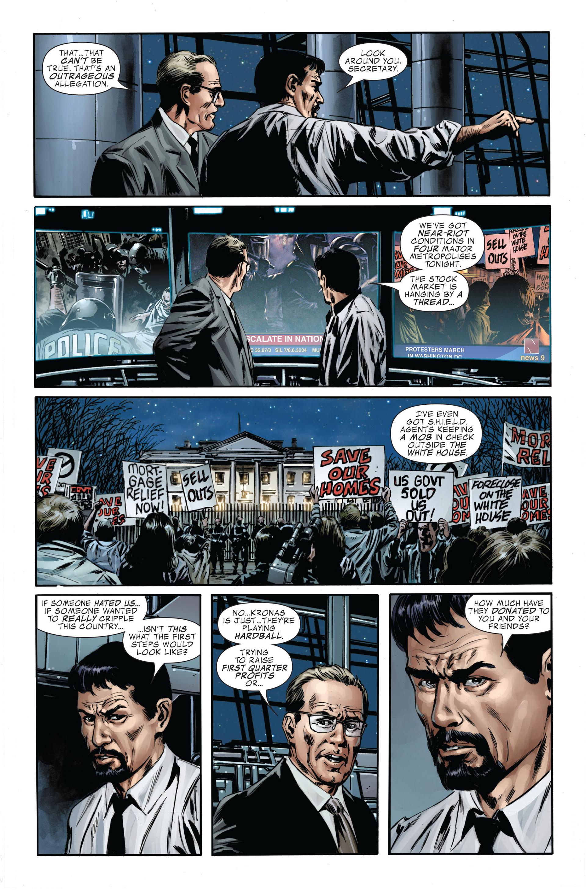 Captain America (2005) Issue #34 #34 - English 21