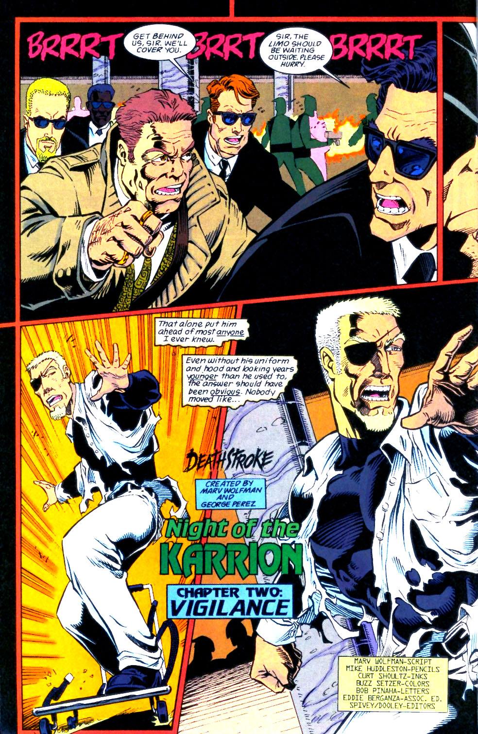 Deathstroke (1991) Issue #56 #61 - English 3