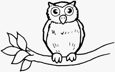 La Chachipedia: Dibujos de Búhos para colorear, para ...