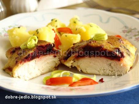 Zapekaná ryba s cviklou - recepty