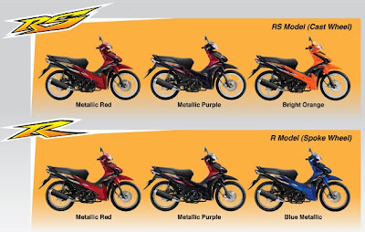 2012 Honda Wave 110 Colors in Malaysia, Priced about RM4.771