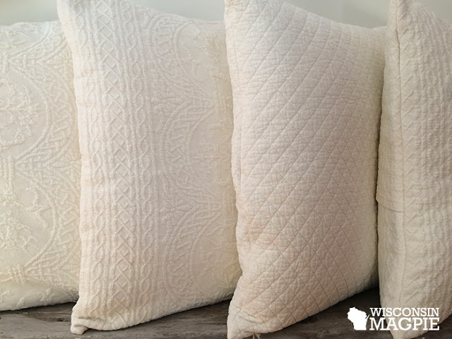 bedspread envelope pillows