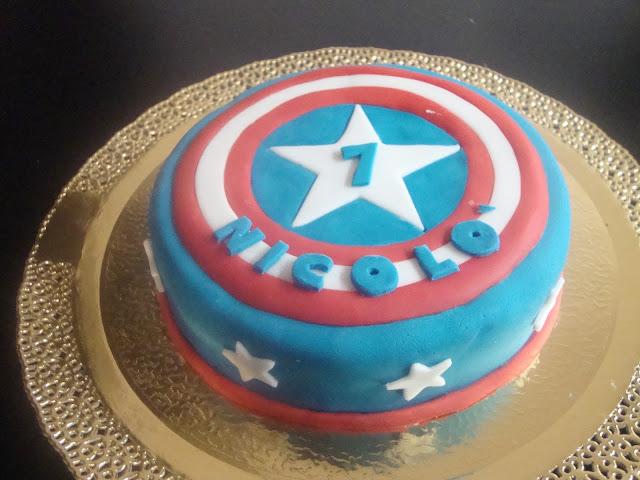 Captain america's cake