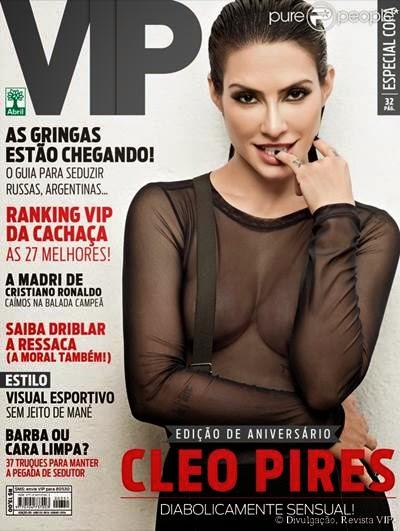 Revista Vip Cleo Pires