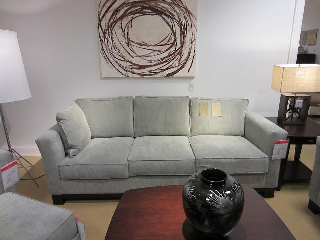 Macy's Kenton Sofa in Sage