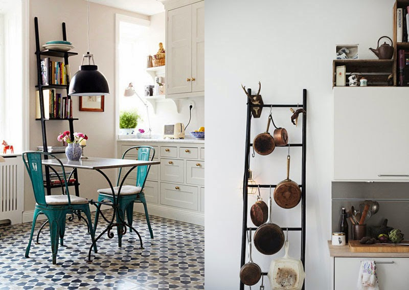 en la decoracin de una habitacin una antigua escalera de madera aportarn esas sensaciones que los elementos de madera nos producen