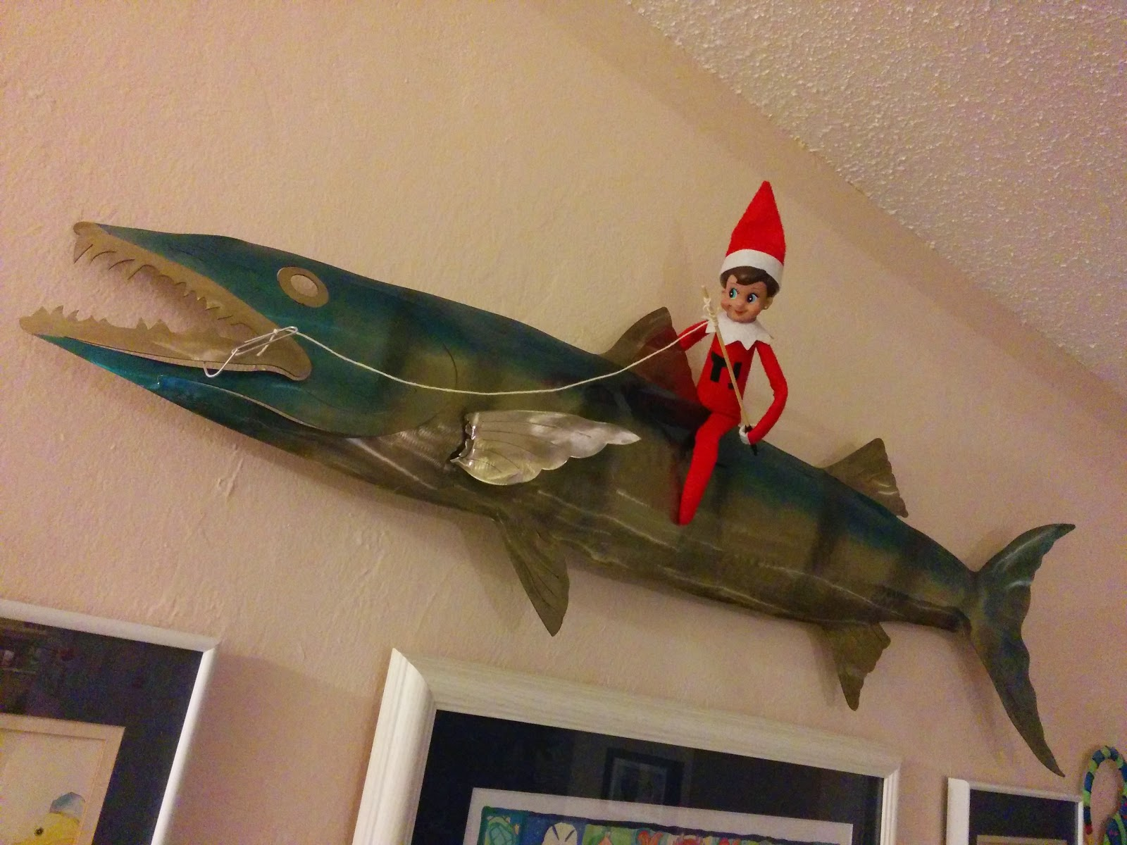 Troutrageous! Elf On The Shelf