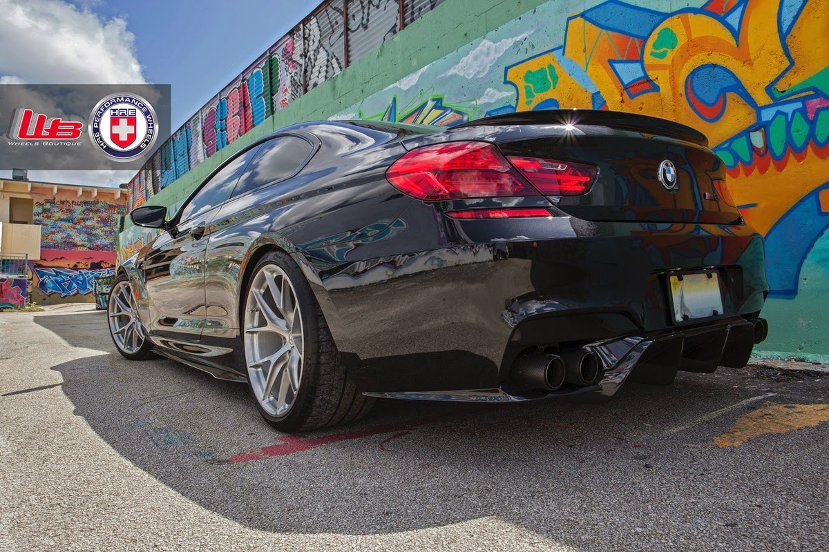 BMW F13 M6 Coupe On P101 By HRE Performance Wheels