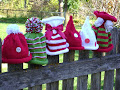 Knit some Christmas Hats....