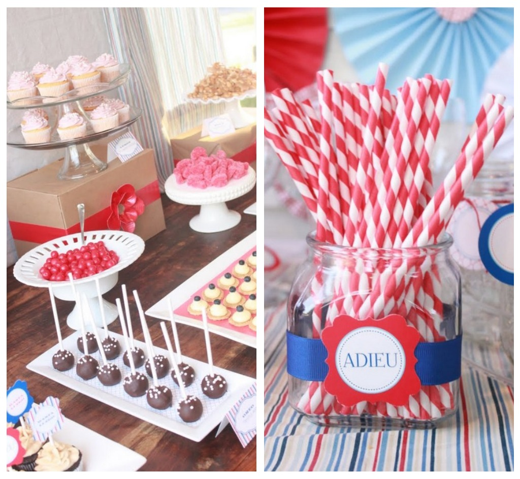 Mirabelle Creations Party} -- Modern Going Away Party Ideas ...