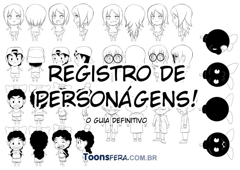 Registros de personagens Regpers