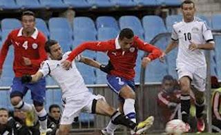 منتخب مصر يلعب مع منتخب سيراليون , قبل مباراة زيمبابوي