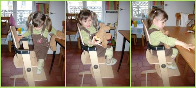 chaise evolutive montessori