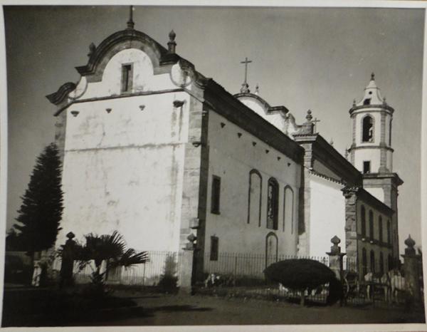 Fundos Igreja Boa Morte ou N.S. Assunção de Barbacena MG
