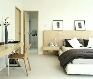 Huis interieur slaapkamer idee n - Groen hoofdbord ...