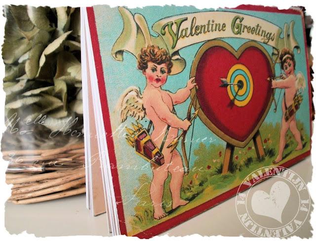 DIY Valentijn kaartenboekje van Jalien.nl