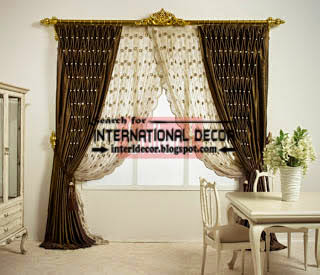 royal living room curtain styles, luxury living room curtains