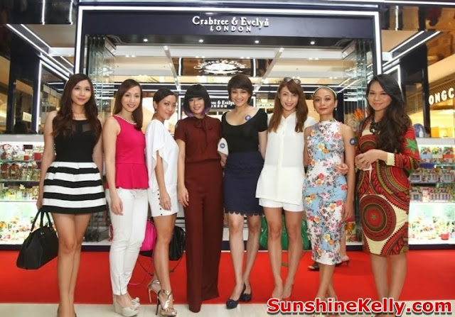 Xandria Ooi, Serena C, Belinda Chee, Atilia, Patricia K, Jane Tan, Dynas Mokhtar, Ezza, christmas gift, Crabtree & Evelyn, 2013 Christmas Gift Collection, New Store in Pavilion KL, pavilion kl, christmas 2013