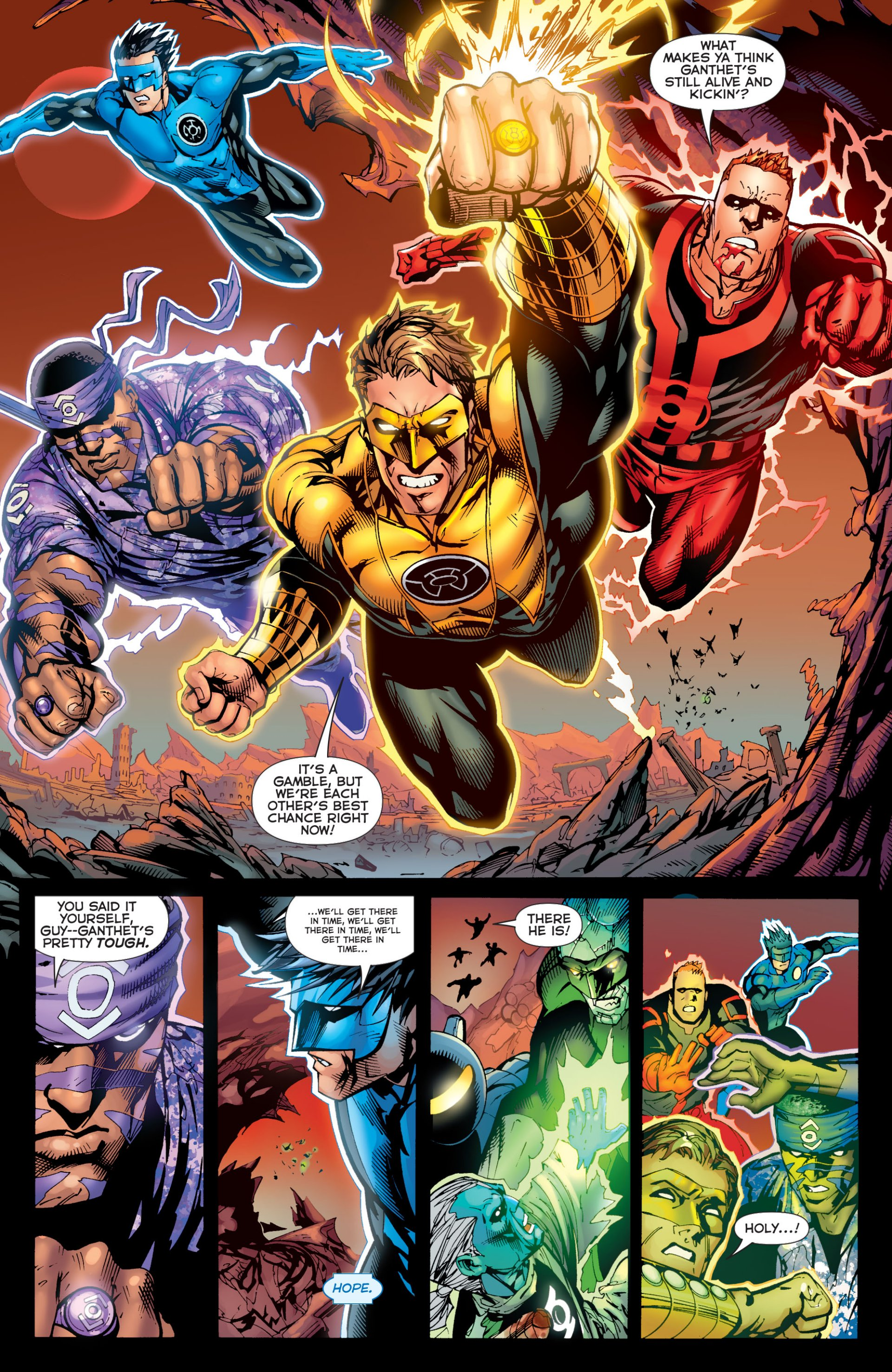 Read online Green Lantern Corps (2006) comic -  Issue #59 - 13