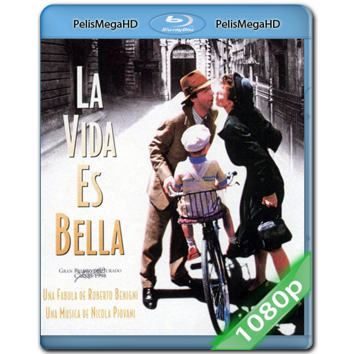 La Vida Es Bella (1997) 1080P HD MKV ESPAÑOL LATINO