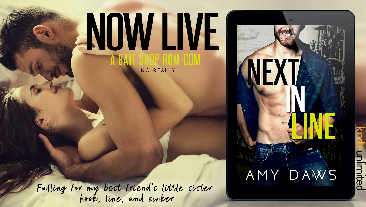 Next In Line Release Day Promo & Giveaway