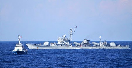 Chinese jet encroaches VN airspace over illegal oil rig