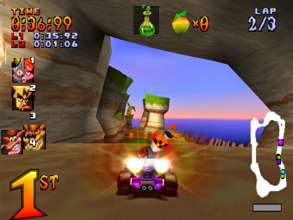 Review Game Crash Team Racing (CTR) - Permainan Balap Mobil