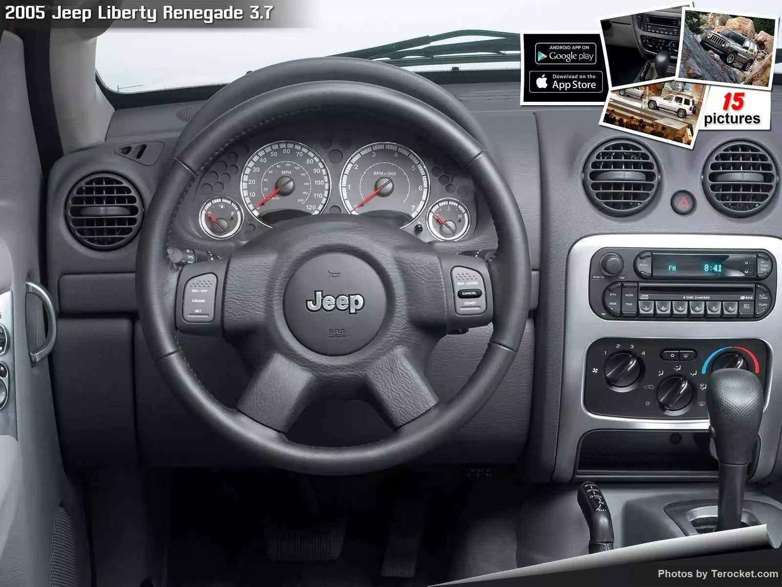 Hình ảnh xe ô tô Jeep Liberty Renegade 3.7 2005 & nội ngoại thất