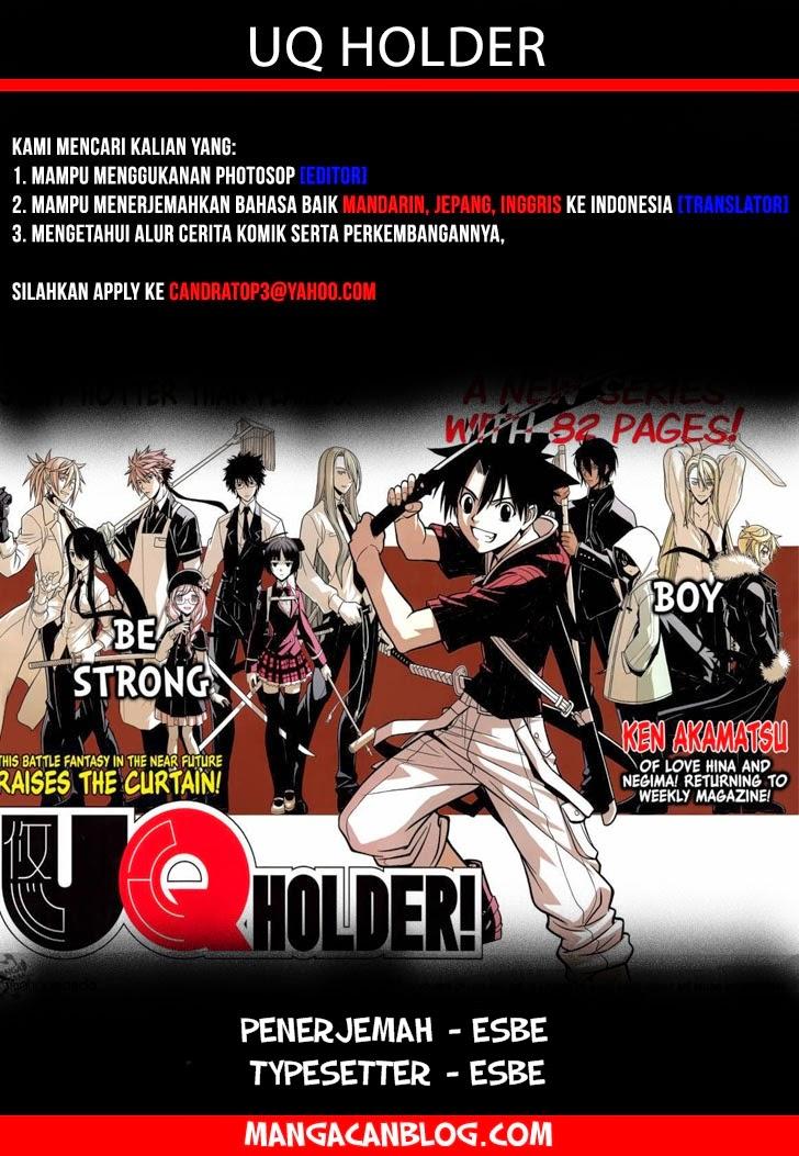Komik uq holder 052 - kota diserang 53 Indonesia uq holder 052 - kota diserang Terbaru 1|Baca Manga Komik Indonesia