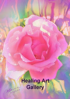 Healing Paintings by Glenyss Bourne