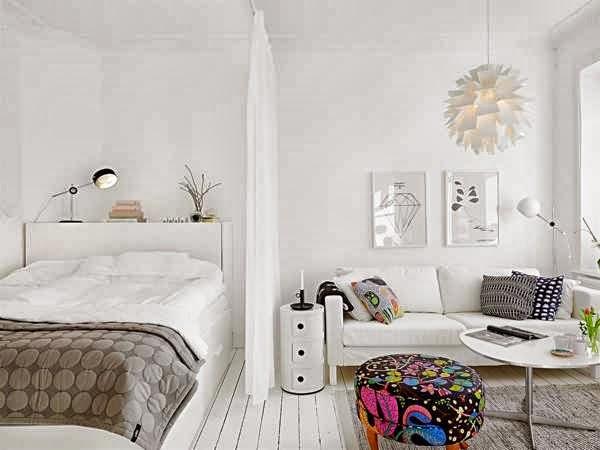 Apartamentos muy pequenos - Soluciones para dormitorios pequenos ...
