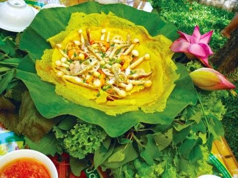 3 món ăn với rau tươi được yêu thích ở Sài Thành