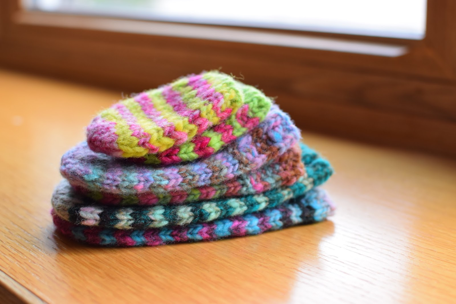 Susan B Anderson Waiting For Winter Mittens Bigger And Now