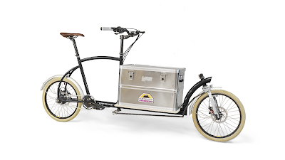 Bringley the cargo bike is built in London and designed for the UK market
